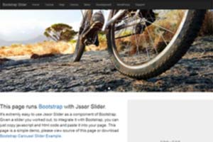 Bootstrap Slider Component Image Carousel/Slideshow/Gallery/Banner/Rotator/Scroller